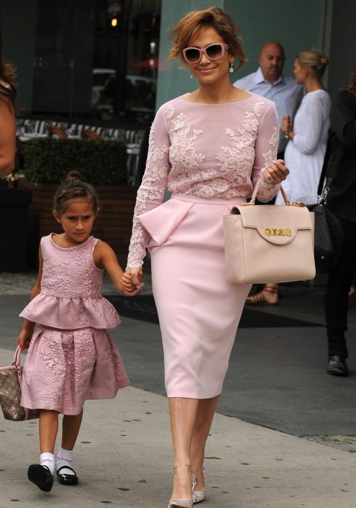 Celebrity Moms and Daughters Used Matching Clothes